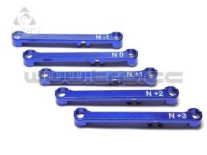 Set barras de dirección Aluminio Kyosho MiniZ MR03 (N)