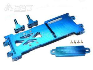 HPI Trophy 3.5 Bandeja soporte de bateria aluminio