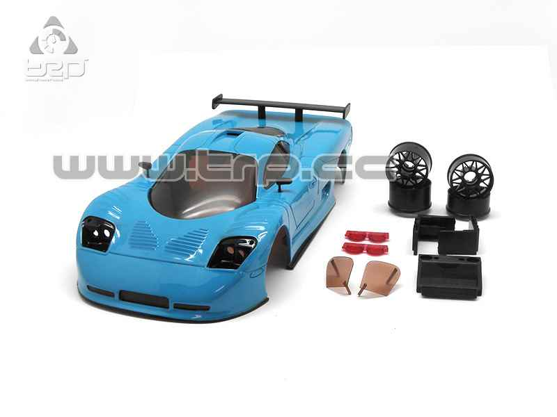 MiniZ Body by TRPscale Mosler hand painted Grabber Blue