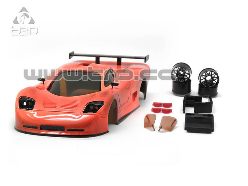 Bodywork TRPscale MiniZ Mosler Hand-painted Coral Smoked