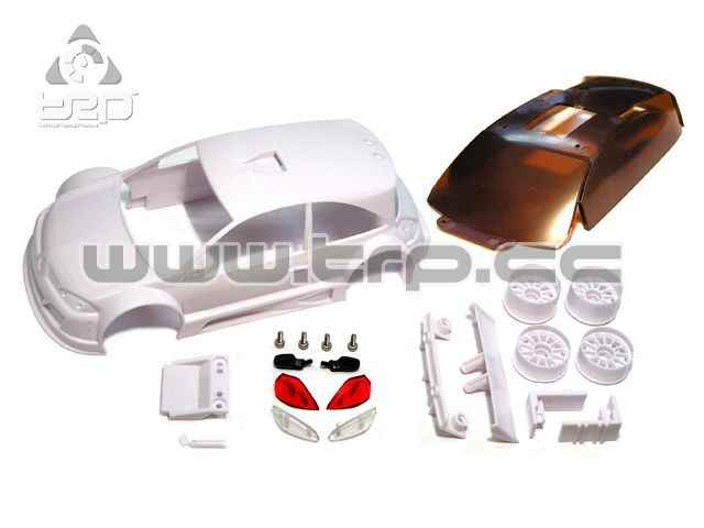 Renault Megane Trophy 2008 White for paint  - TRPscale