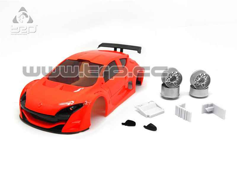 Carrosseria TRP Scale per Miniz Megane FLUOR ORANGE