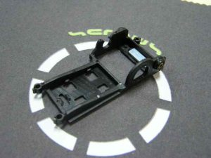 Soporte para Motor HRS V12 transversal - Slot.it