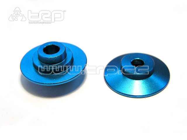 GPM Aluminium Main Gear Adapter Plates for Team Losi