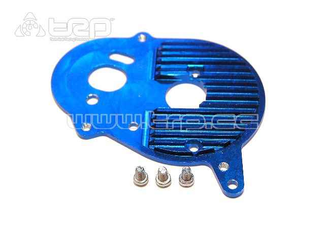 Aluminium Motor Heat Sink Plate for Team Losi (Blue)
