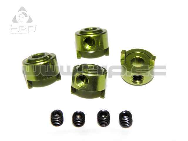 Spacers for Install MiniZ Rims on Slot cars (4 pieces)