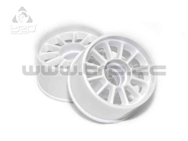 TRPScale MiniZ MR03/MR02 Rear Rims Offset +1 (White)
