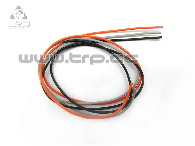 TRPScale Flexible Servo Cables for MiniZ 3 colors 20cm appro