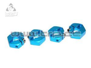 RC Atomic M-Series VM-II Hexágonos Aluminio 12mm (4u)
