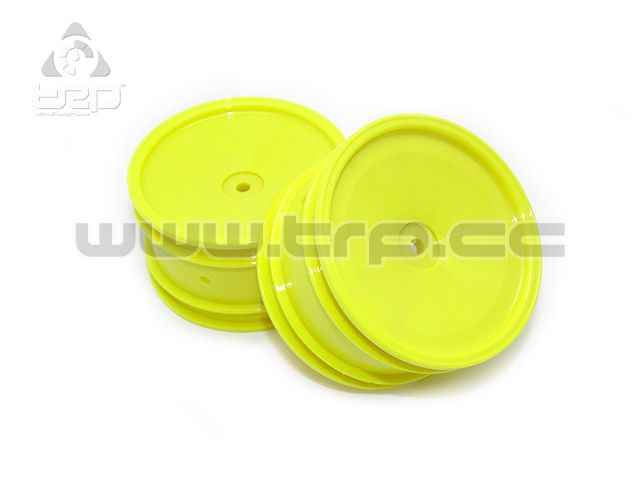 Kyosho Lazer ZX5 4WD Rear Wheel 56 size Yellow (2u)