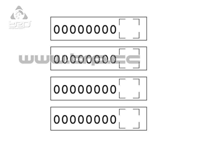 rp_manager battery label adhesive (4u)