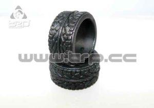 Neumático MiniZ 11mm Radial KS EXTRA FIrm para pistas RCPTracks