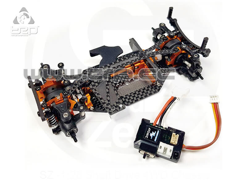 SZ Chassis Kit with ESC (No servo, no motor)