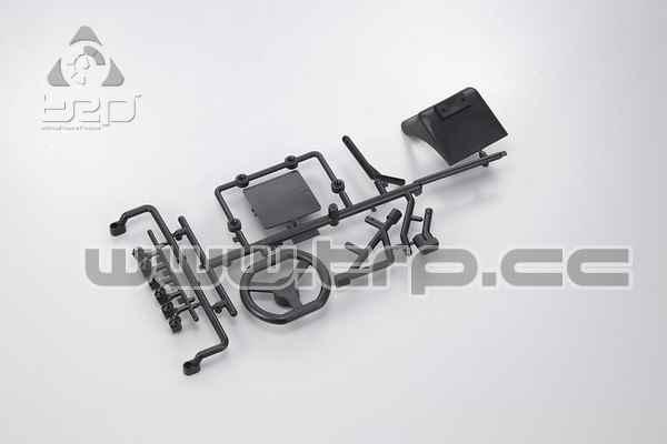 Kyosho Racing Kart Volante y soporte parachoques