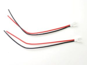 PN Racing Cable 130mm x 22awg conector MOLEX macho(2 uds.)