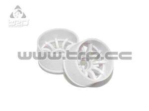 PN Racing Llanta MiniZ 2wd (R+3) 10R Blanca