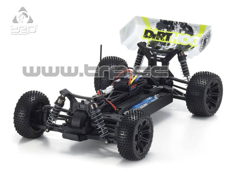 DIRT HOG T1 EP BUGGY READYSET (KT231P) AVEC BATTERIE ET ??CHARGE