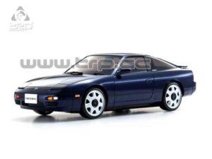 Carroceria Kyosho Autoscale Nissan 180Sx Azul