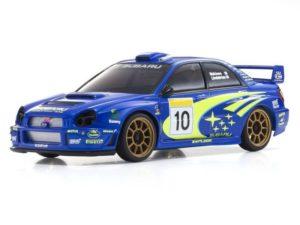 Carrocería ASC Mini-Z Subaru Impreza WRC 2002
