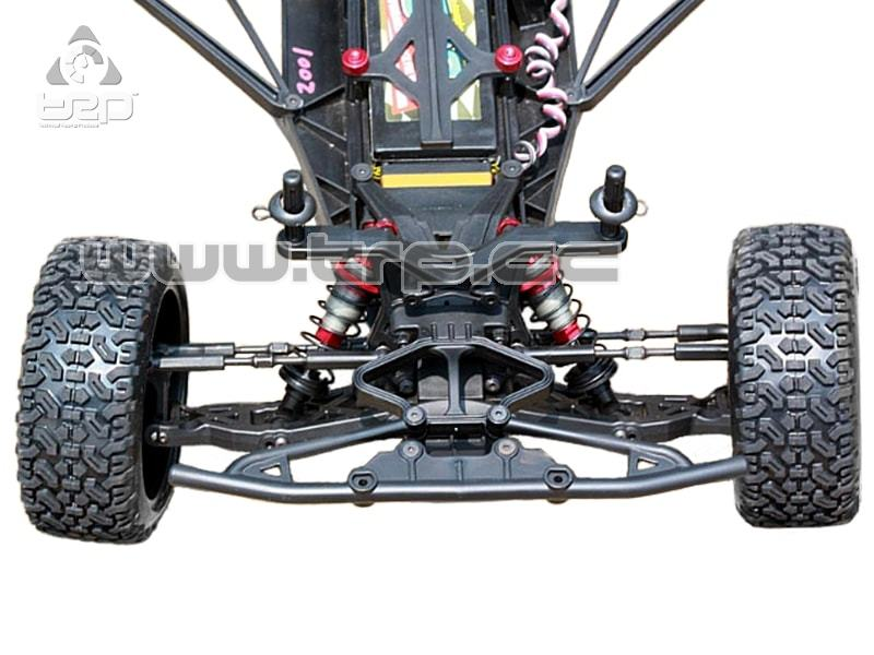 Short Course PR Racing 2WD SC-201 Chasis KIT con Diff mecánico