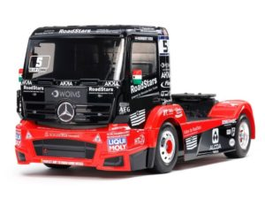 TAMIYA Camión MERCEDES-BENZ ACTROS MP4 MB MOTORSPORT TT-01 TYPE-E 4X4
