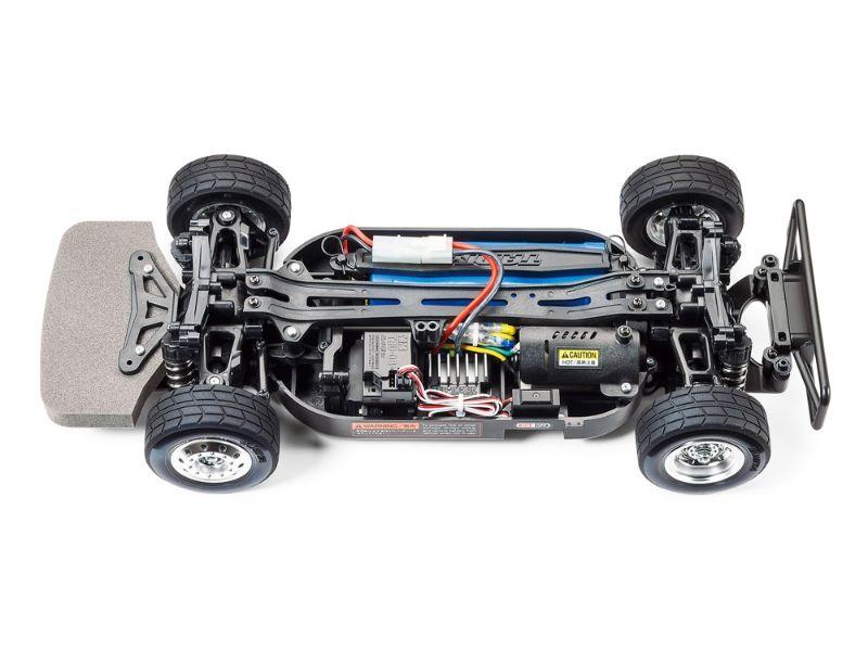 TAMIYA Camión MERCEDES-BENZ ACTROS MP4 MB MOTORSPORT TT-01 TYPE-E 4X4