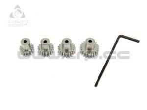 Kyosho MiniZ AWD piñones de motor Aluminio (15-17-19-21)