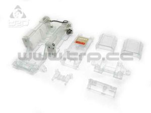 Kyosho MiniZ MR01 Chasis Skeleton Transparente