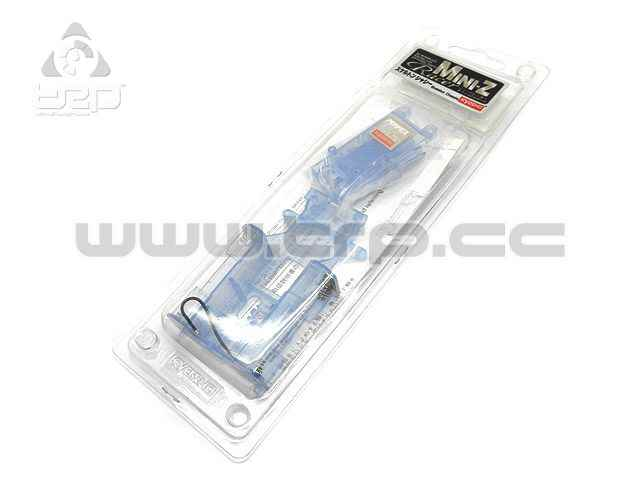 Kyosho MiniZ MR01 Skeleton Chassis blau-transparent