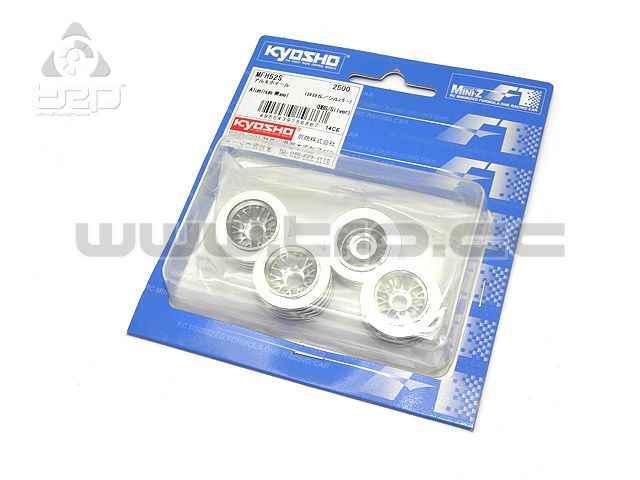 Kyosho MiniZ F1 Llantas Aluminio Réplica BBS