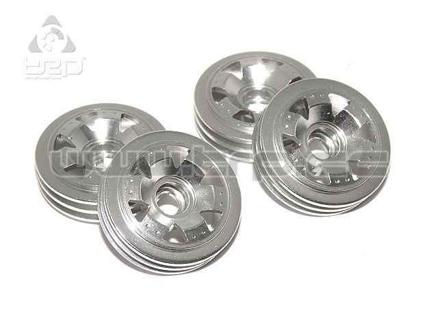 Llantas aluminio color plata para Overland MiniZ