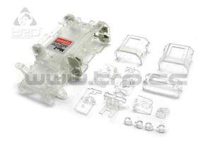 Kyosho MiniZ MR015 Chasis Skeleton Blanco