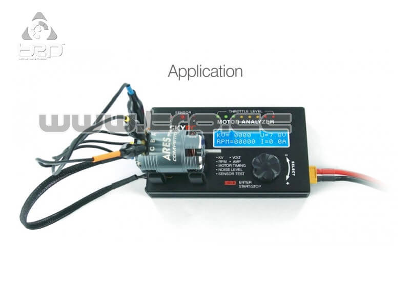 Brushless Motor Analyzer de SkyRC
