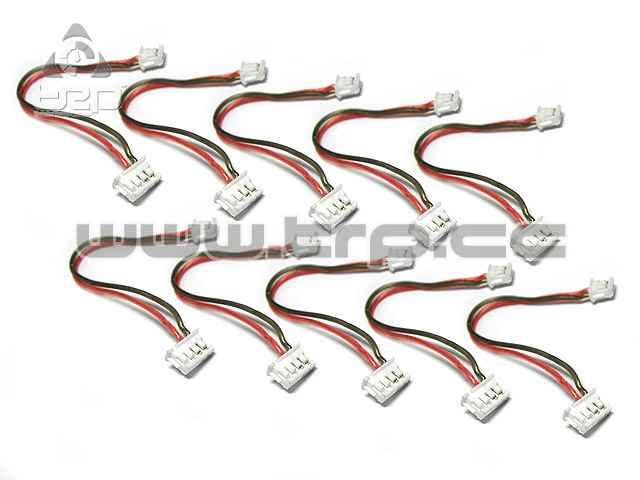 Cable silicona transponder GiroZ en Kyosho MiniZ MR03 dNaNo(10u)
