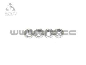 PN Racing Arandelas para tornillo cónico de M2 (aluminio)