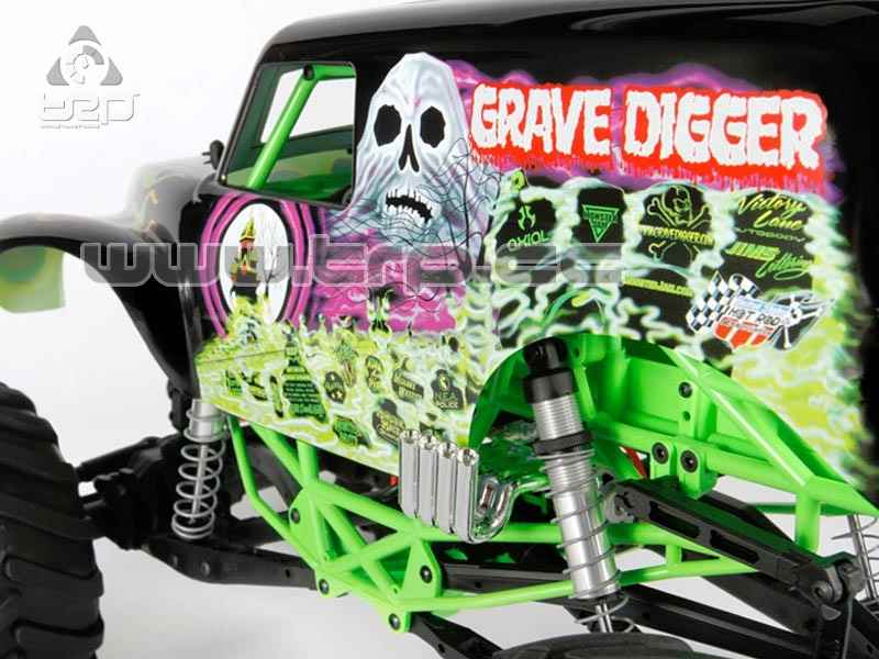 Axial SMT10 Grave Digger Monster Jam RTR