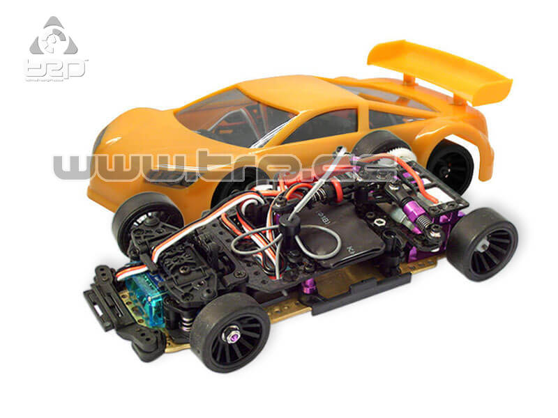 Jomurema JR128 2wd PRO Version Ready to run (Naranja)