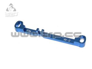 Barra de dirección (Ancha)Toe-Out -2.0 Azul MiniZ MR03