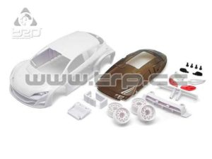 Renault Megane Trophy 2010 White for paint - TRPscale