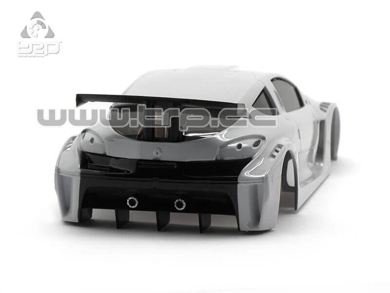 Bodywork TRP Scale for MiniZ Megane Industrial Gray