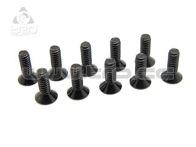 TRP M2x6 Countersunk Steel Hex Screw (10pcs)