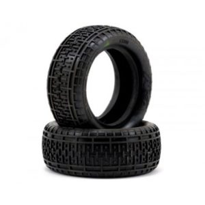 1:10 BUGGY TYRES REBAR 4WD FR SOFT (2) (NO INSERTS)