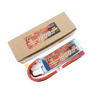 Gens ace Bateria LiPo 2S 7.4V-1800-40C(Deans) 96x31x19mm 110g