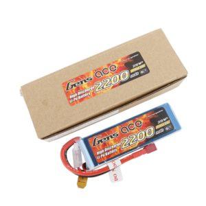 Gens ace Bateria LiPo 2S 7.4V-2200-30C(Deans) 108x34x16mm 125g