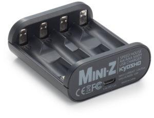 CARGADOR USB SPEED HOUSE MINI-Z (AA/AAA)