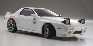 Autoscale Mini-Z Mazda RX7 Savanna FC3S Initial-D Blanca (MA020)