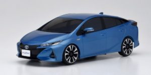 Autoscale Mini-Z Toyota Prius PHV Spirited Aqua Metallic (MF03F)