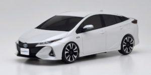 Autoscale Mini-Z Toyota Prius PHV White Pearl Crystal (MF03F)