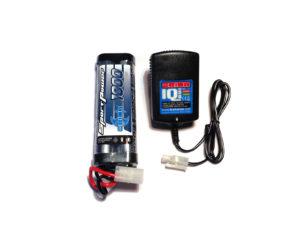 COMBO CARGADOR IQ801-1800 (ORI30197+ORI10338E) EU-TAMIYA