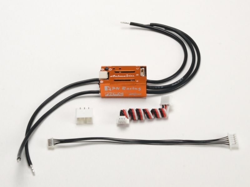 PN Racing Anima 20A Variador Brushless Sensor ESC